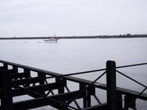 Rio Tinto Iron Bridge i Huelva Royaltyfria Foton
