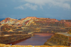 Rio Tinto mine Stock Photo