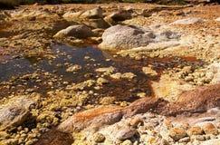 Rio Tinto in Niebla (Huelva) Stock Images