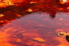 Rio Tinto (rode rivier) Royalty-vrije Stock Foto's