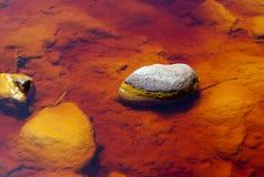 Rio Tinto (rode rivier) royalty-vrije stock fotografie
