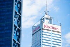 Rio Tinto som bryter högkvarteret Perth Royaltyfri Foto