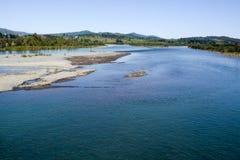 Rio Ñuble in the Bio Bio region. Chile. Stock Photos