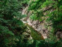 Rio Val Grande in Piemont, Italien Lizenzfreies Stockfoto