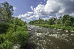 Rio Vantaa Imagens de Stock Royalty Free