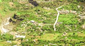 Rio Verde Aerial Shot Fotografia Stock Libera da Diritti