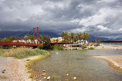Rio Verde in Marbella at Costa del Sol in Spain Royalty Free Stock Photo