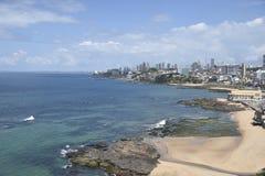 Rio Vermelho-Strand, in Salvador, stockbild