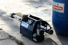 Rio verstärkt Kampf gegen Zikas Moskito Aedes aegypti Stockbilder