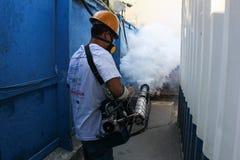 Rio verstärkt Kampf gegen Zikas Moskito Aedes aegypti Stockfotos