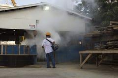 Rio verstärkt Kampf gegen Zikas Moskito Aedes aegypti Stockfoto