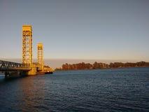 Rio Vista Pier lizenzfreie stockfotos