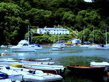 Rio Yealm, Newton Ferrers, Devon. Foto de Stock
