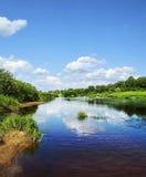 Rio Zapadnaja Dvina Fotografia de Stock