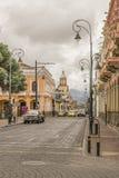 Riobamba Historic Center Urban Scene Royalty Free Stock Photography