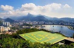 RiodeJaneiro Landcapes Foto de archivo libre de regalías