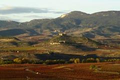 Rioja de La en automne Image libre de droits