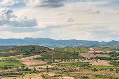 Rioja landscape Royalty Free Stock Image
