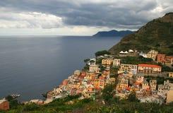 riomaggiore Италии Стоковое Изображение RF