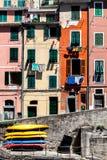 riomaggiore Италии Стоковое фото RF