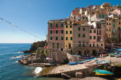 Riomaggiore royalty free stock photography