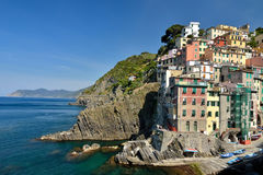 Riomaggiore, Cinque Terre Stock Images