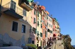 Riomaggiore Cinque Terre Zdjęcia Stock