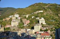 Riomaggiore Cinque Terre Obrazy Royalty Free