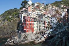 Riomaggiore - Cinque terre royalty-vrije stock foto