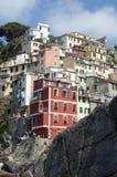 Riomaggiore - Cinque terre royalty-vrije stock foto's