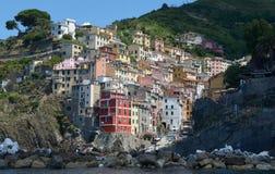 Riomaggiore Cinque Terre 2 Foto de archivo libre de regalías