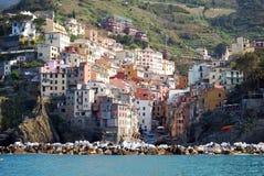 Riomaggiore-Cinque Terre Royalty-vrije Stock Afbeelding