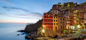 Riomaggiore (Cinque Terre Italian riviera) Royalty Free Stock Photo