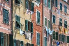 Riomaggiore, Cinque Terre, Italie Images stock