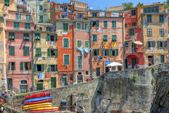 Riomaggiore, Cinque Terre, Italie Image libre de droits