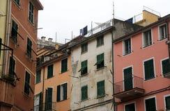 Riomaggiore, Cinque Terre, Italie Photos libres de droits