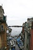 Riomaggiore, Cinque Terre, Italie Images libres de droits