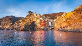 Riomaggiore, Cinque Terre, Italy Imagem de Stock