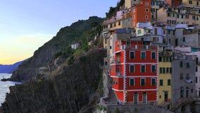 Riomaggiore, Cinque Terre, Italy vídeos de arquivo