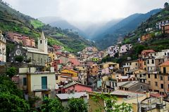 Riomaggiore, Cinque Terre, Italy Royalty Free Stock Photo