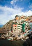 Riomaggiore of Cinque Terre,Italy Royalty Free Stock Images