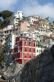 Riomaggiore - Cinque Terre royalty free stock photos