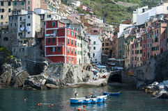 Riomaggiore - Cinque Terre Royalty Free Stock Images