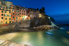 Riomaggiore in  Cinque Terre, Italy Royalty Free Stock Images