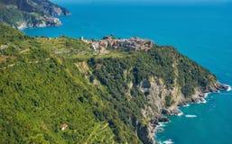 Riomaggiore Cinque Terre Italy Coast fotos de stock