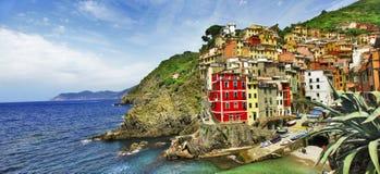 Riomaggiore , Cinque terre. Italy Royalty Free Stock Images