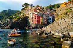 Riomaggiore (Cinque Terre Italy) Royalty Free Stock Photography