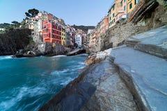 Riomaggiore in  Cinque Terre, Italy Royalty Free Stock Photos