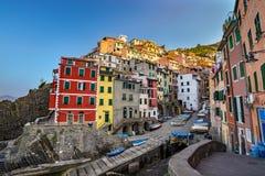 Riomaggiore - Cinque Terre - Italy Stock Photos