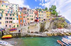 Riomaggiore, Cinque Terre, Italy Royalty Free Stock Photos
